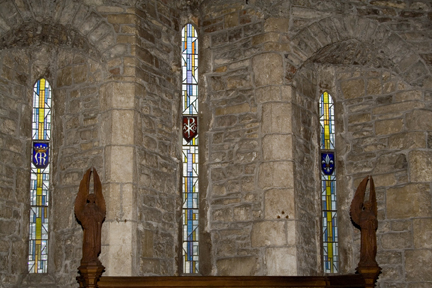 Triple Lancet Window in Lady Chapel 1972