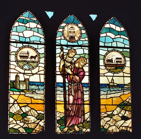 St Christopher Window 1982
