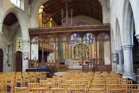 The nave, looking east