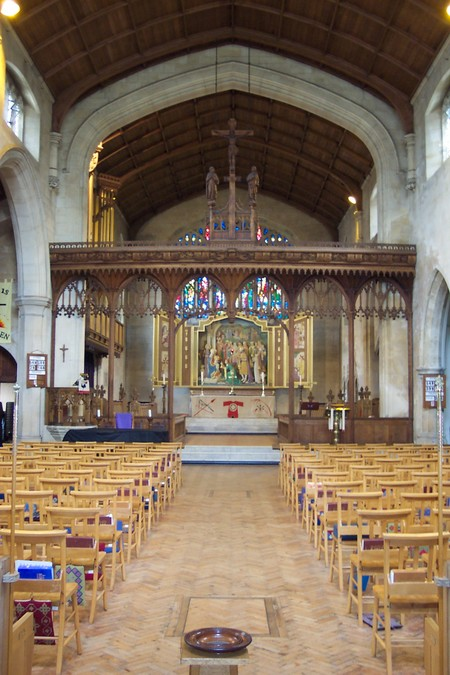 The magnificent rood screen