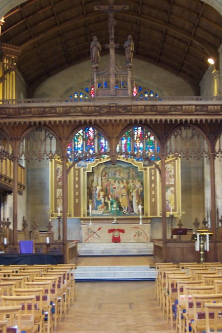 From the nave to the high altar