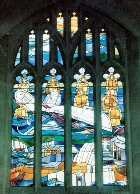 Lifeboat Disaster Window 1947