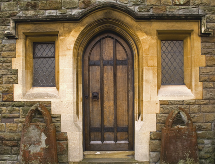 Choir Vestry Door